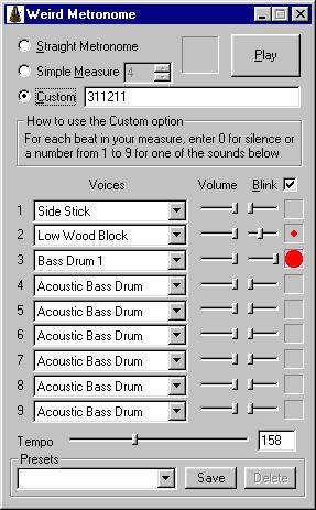 Weird Metronome